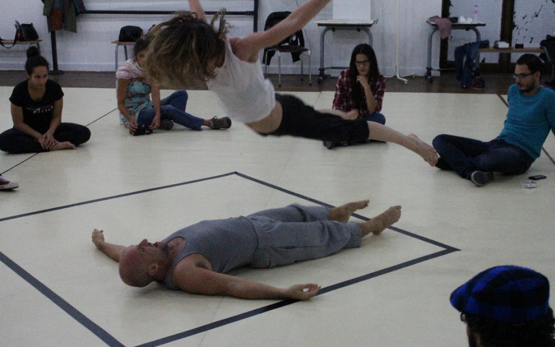 EuroMov acueille en résidence d'artiste le chorégraphe et danseur Leonardo Montecchia