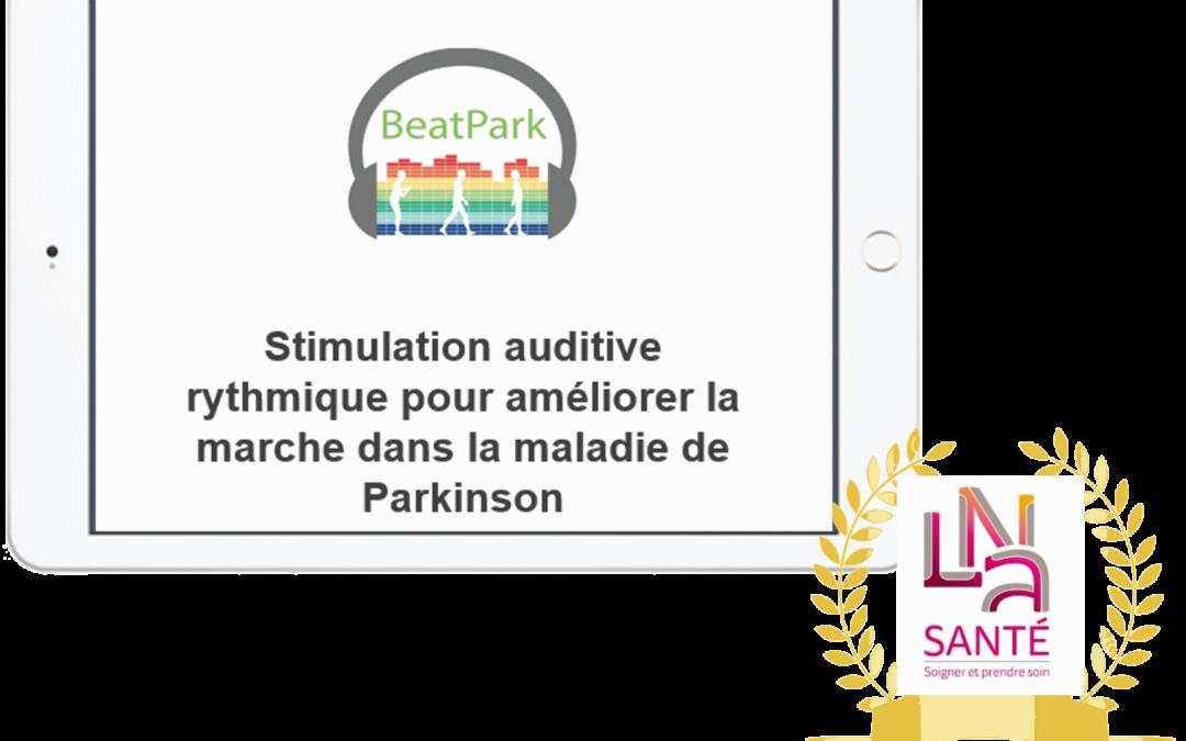 Notre application mobile dédiée à la rééducation de la marche des patients parkinsoniens, récompensée au LNA Digital Day