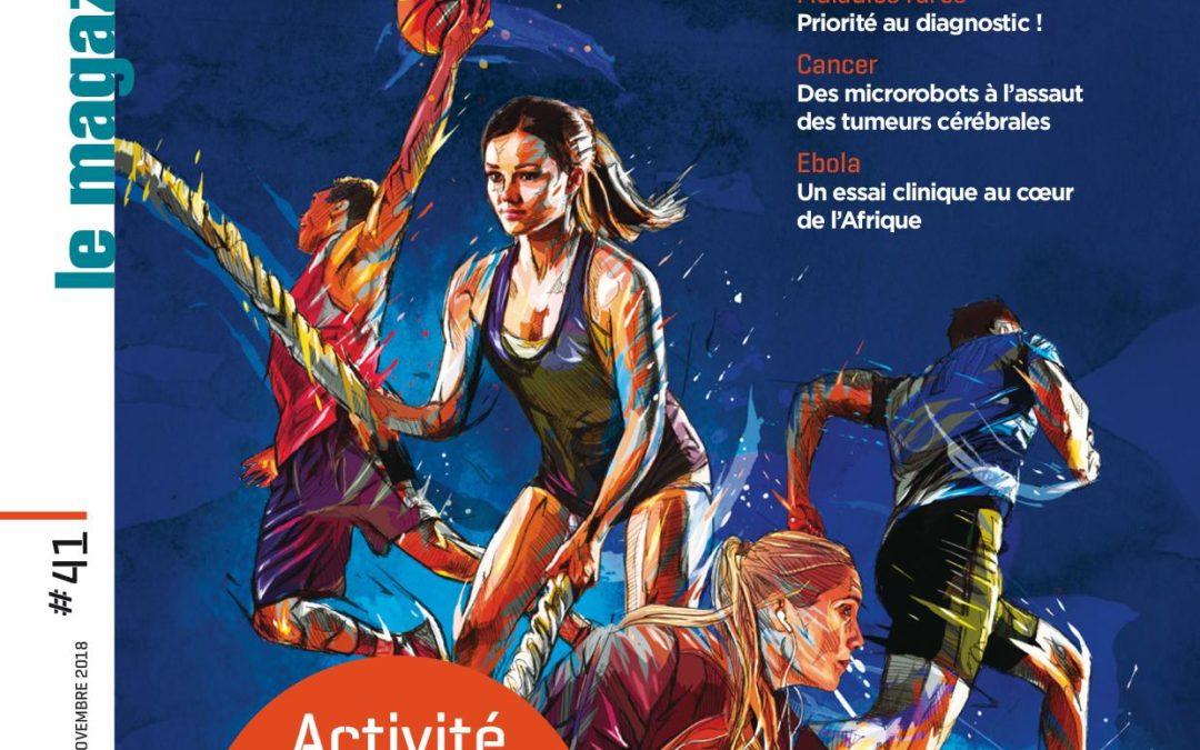 Le magazine de l'Inserm «Activité physique pourquoi bouger ?» cite une équipe d'EuroMov