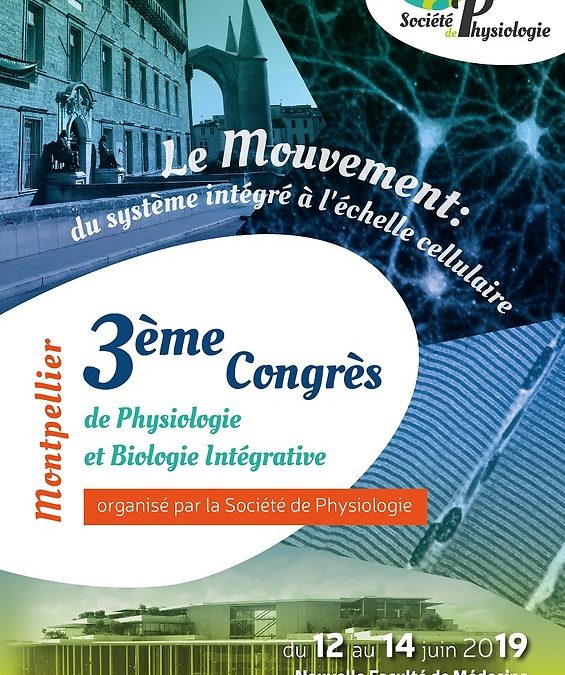 EuroMov à l'honneur au 3ème Congrès de Physiologie et de Biologie Intégrative de la Société de Physiologie