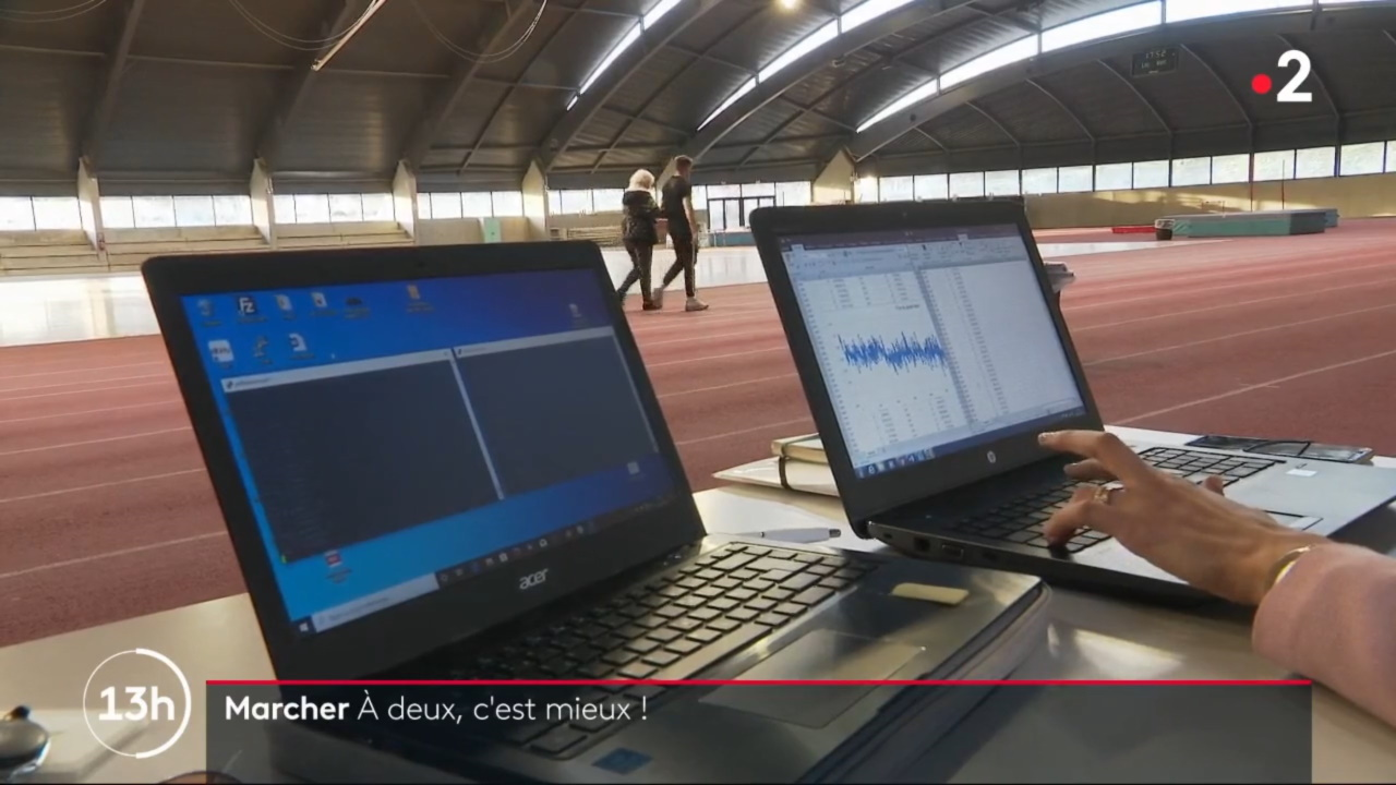 Le journal de la mi-journée sur France 2 du 11 mars 2020 a présenté les travaux de recherche de Mme Samar Ezzina (Doctorante EuroMov, chargée de projets Sport-Santé avec l'Union Nationale Sportive Léo-Lagrange)